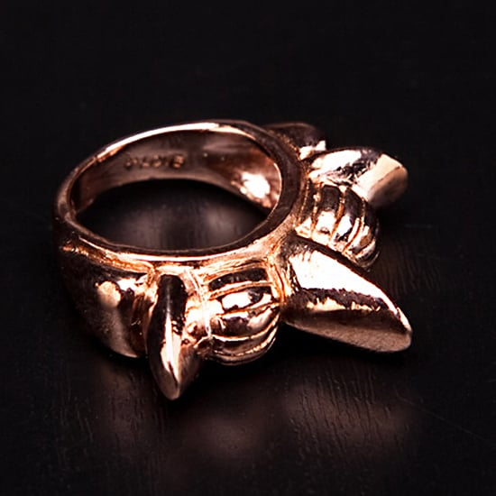 Pamela Love Tribal Spike Band Ring, $310