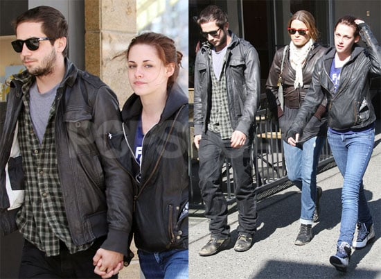 Kristen Looks Past Robert, Taylor, & Only Has Eyes For Michael