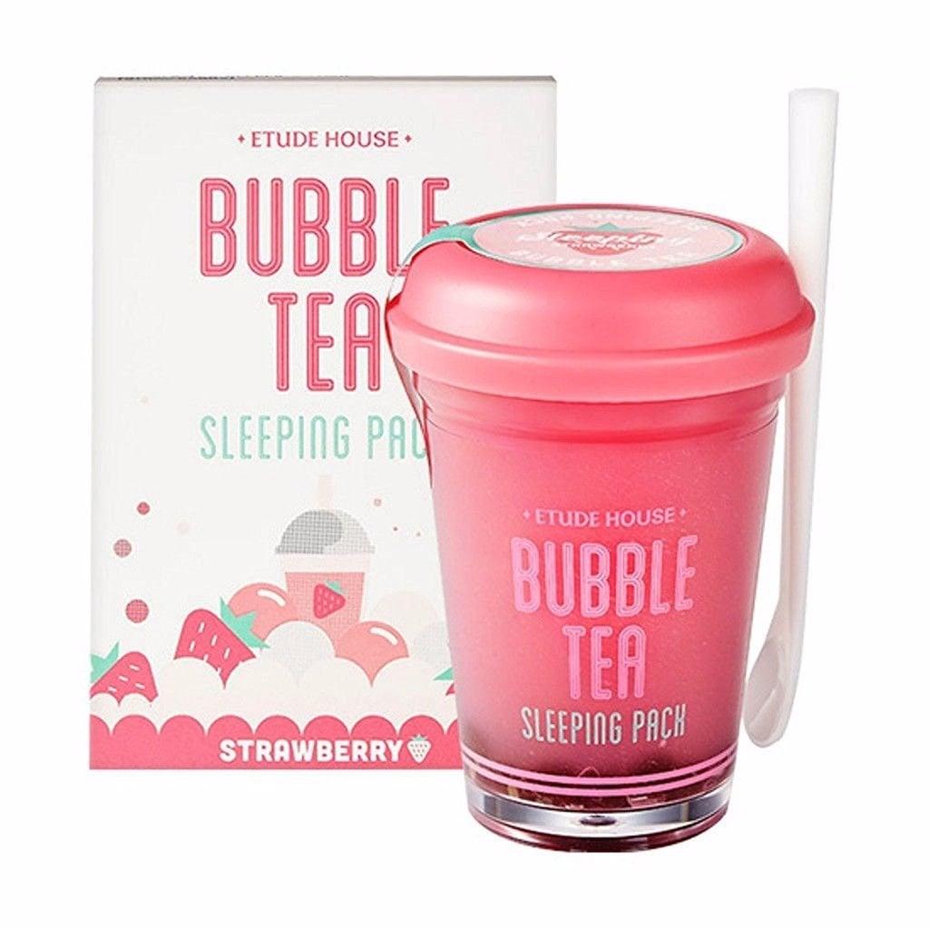 Etude House Bubble Tea Sleeping Pack Strawberry