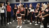 SNL Cheerleading Show Skit With Halsey | Video