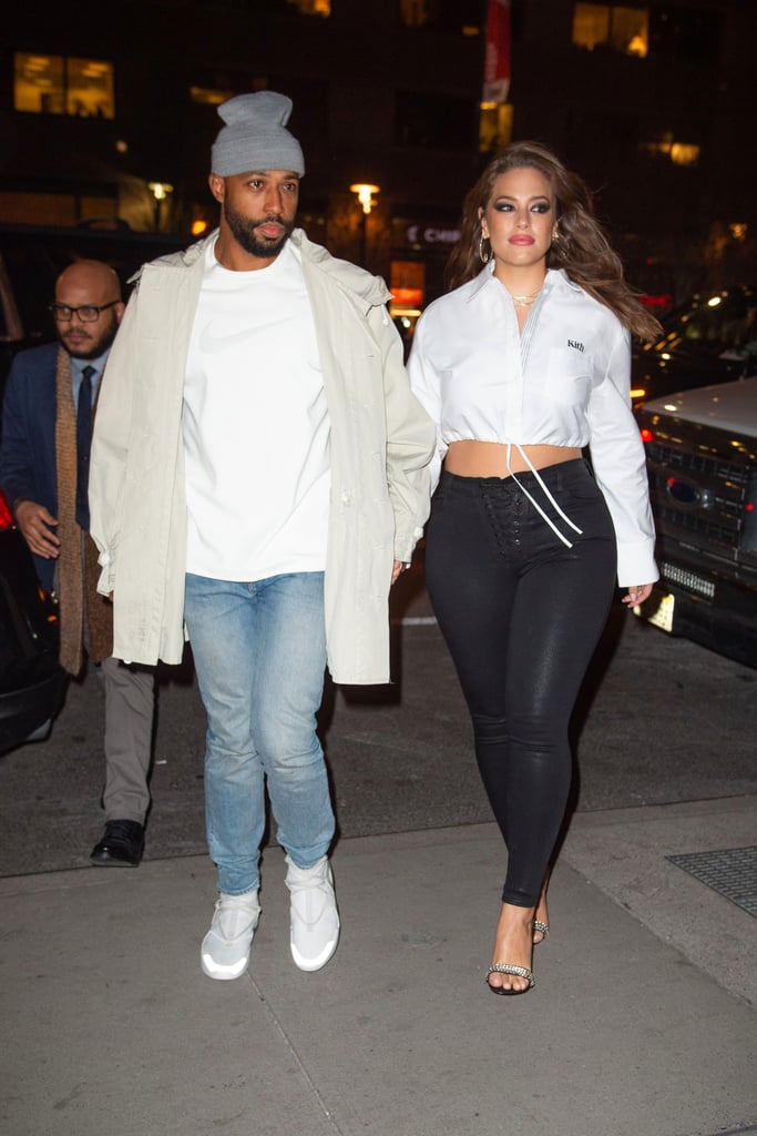 Ashley Graham S Black Stilettos January 2019 Popsugar Fashion