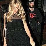 Tom Sturridge and Sienna Miller enjoyed a night out on the town in June 2011 while in London.
