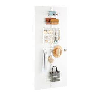 Closet Door and Wall Rack Solution