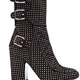 Laurence Dacade Suede Studded Boots ($1,395)