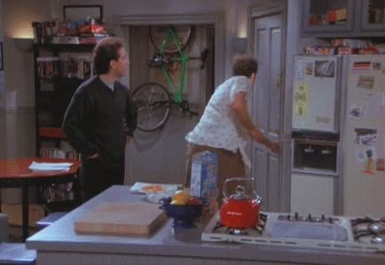 When Kramer Gets Blinded by the Light