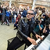 When He Staged a Surprise Piano Performance in a Train Station