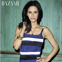 Courteney Cox in Harper's Bazaar April 2011