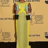Uzo Aduba Winning at the SAG Awards 2015   GIF and Photos