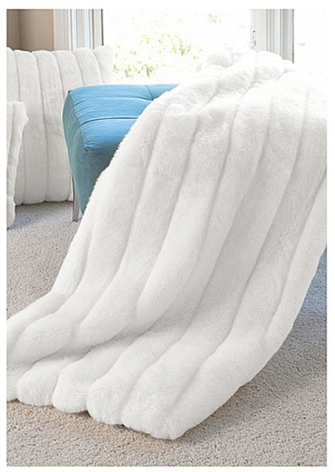 Faux Fur Throw ($209)