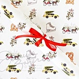 Christmas in New York Wrapping Paper