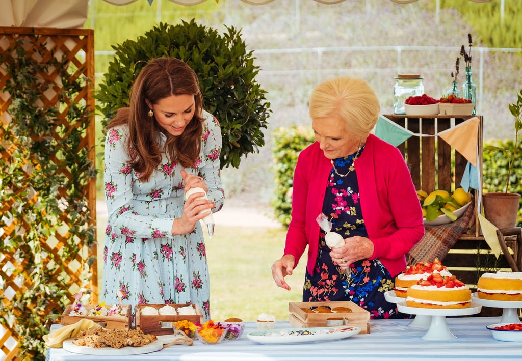 Kate Middleton Baking With Mary Berry Is the Christmas Content We Want, Need, and Deserve