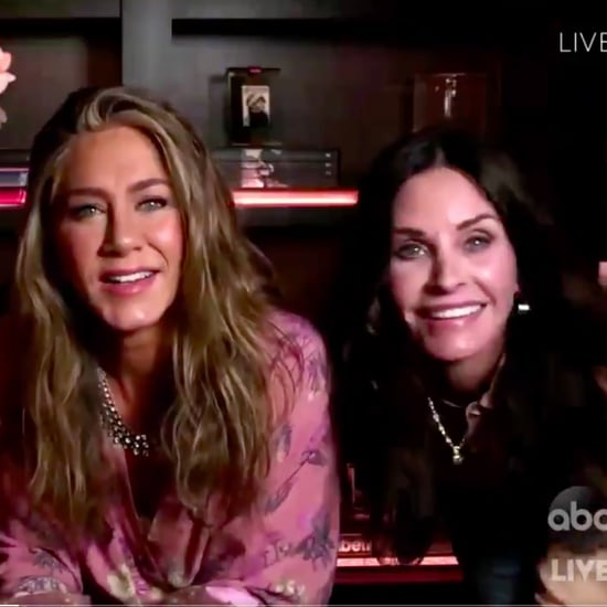 Jennifer Aniston Had a Friends Reunion at the Emmys 2020
