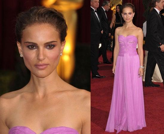 Oscars Red Carpet: Natalie Portman