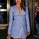 Priyanka Chopra's Dion Lee Cutout Suit