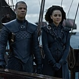 Missandei and Grey Worm From Game of Thrones