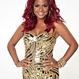 Christina Milian  How you know her: The pop star is currently the social media correspondent on The Voice. Her DWTS stereotype: The girl with the sexiest costumes.  Her partner: Mark Ballas