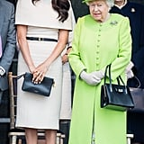 Meghan in Givenchy, June 2018