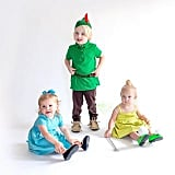 Peter Pan, Wendy Darling, and Tinkerbell