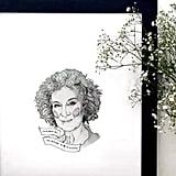 Margaret Atwood Print
