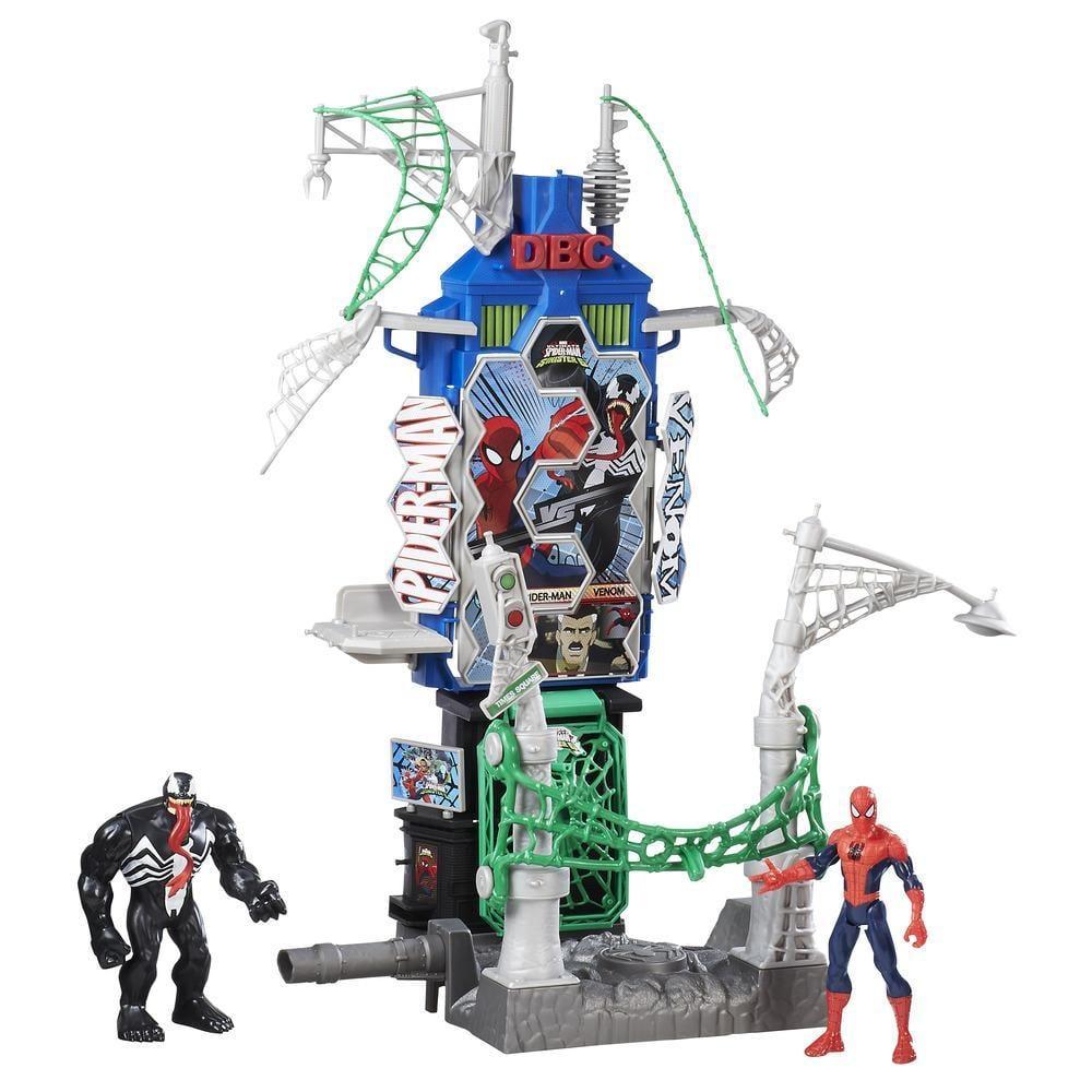 Spiderman Marvel Web City Showdown Play Set