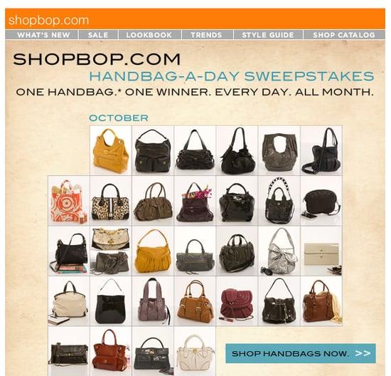 On Our Radar: Shopbop's Handbag-A-Day Sweepstakes