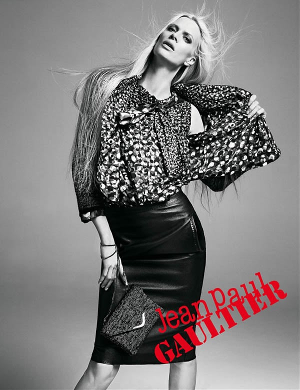 See the Carine Roitfeld-Styled Jean Paul Gaultier Fall 2011 Campaign