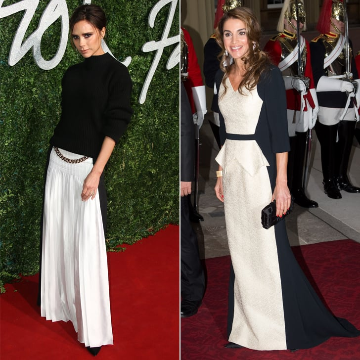 A Black-and-White Red Carpet Look