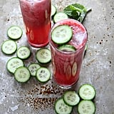 Blackberry Mint Cucumber Tequila Cooler