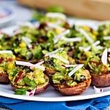 Roasted Potato Cups With Guacamole