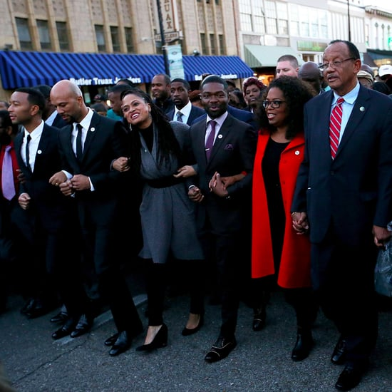 Oprah Winfrey Marching in Selma on MLK Weekend Pictures