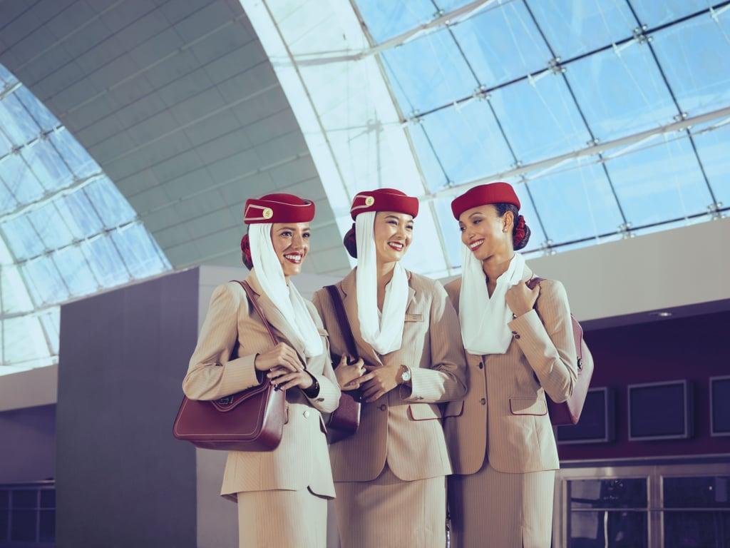 Befriend the flight attendants