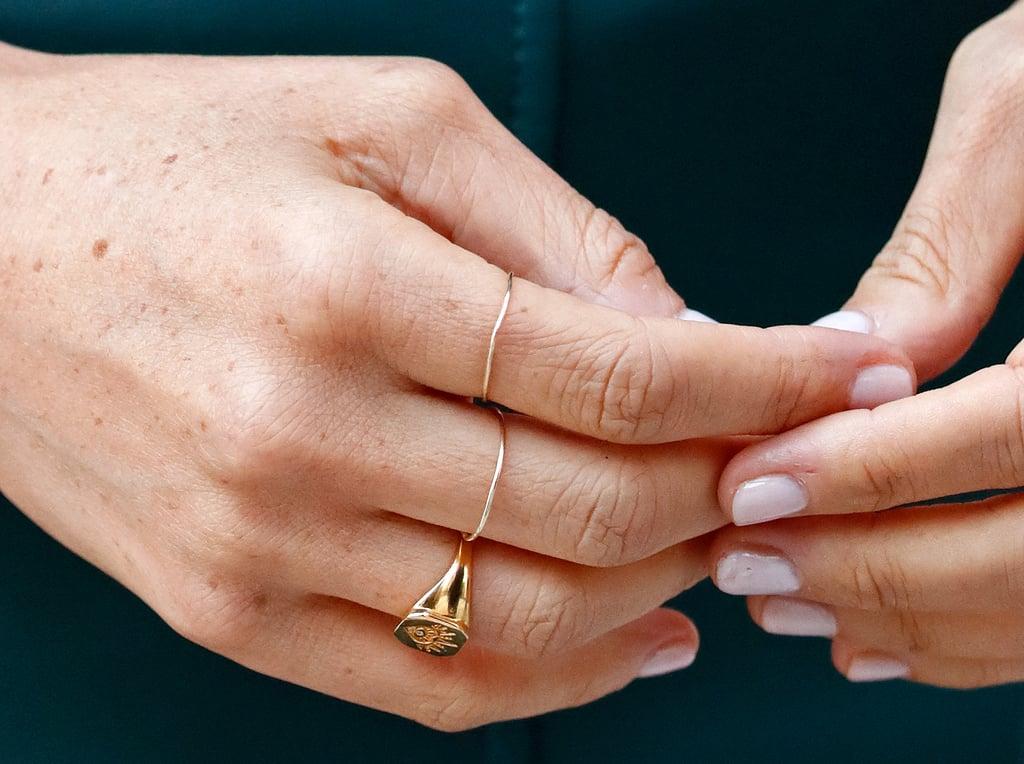 Meghan Markle's Missoma Signet Ring | Where to Buy Meghan ...