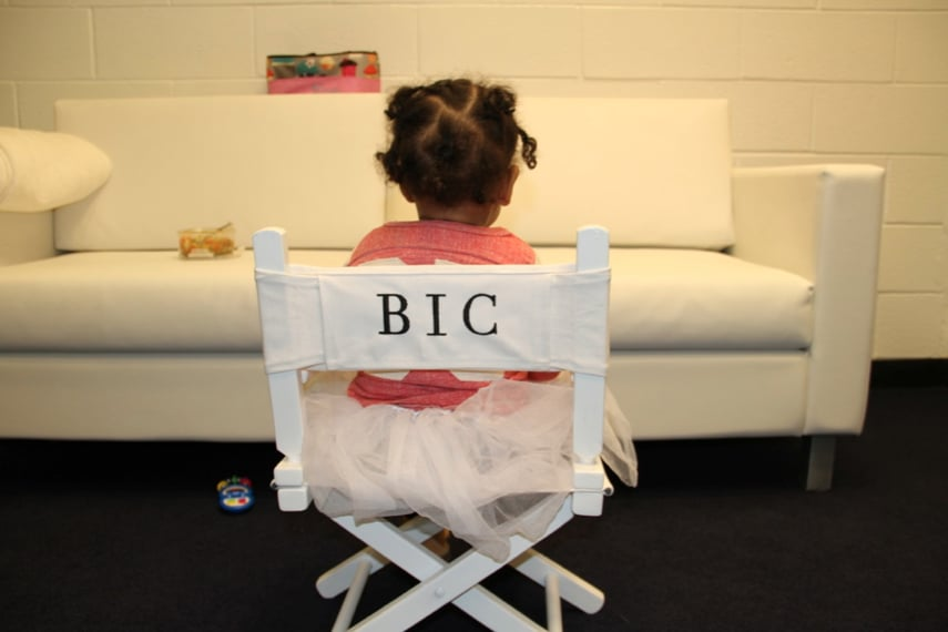 Blue Ivy Got a Personalized Chair