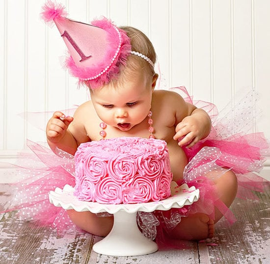Pink Girlie First Birthday Party