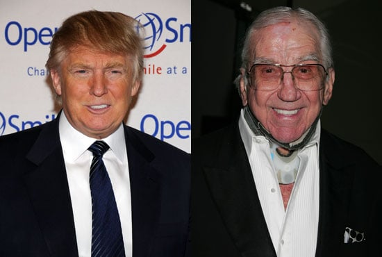 Photo of Donald Trump and Ed McMahon; Donald Is Saving Ed's House From Foreclosure