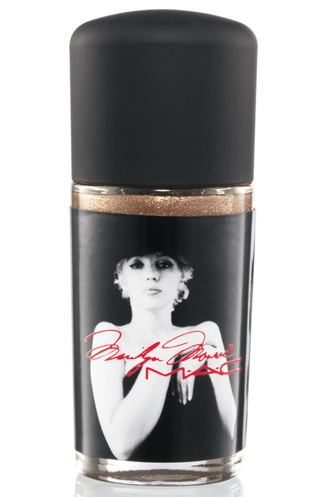 Nail Lacquer in Rich, Rich, Rich, a glittery gold pearl ($18) — online only