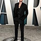 KJ Apa at the Vanity Fair Oscars Party 2020