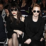 Famous Faces Fill the Front Rows at Paris Fashion Week