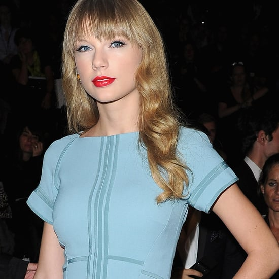 Taylor Swift, Rachel Zoe, Elsa Pataky Pictures Front Row at Elie Saab Paris Fashion Week