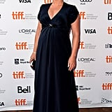 Kate Winslet wore a Jenny Packham gown.
