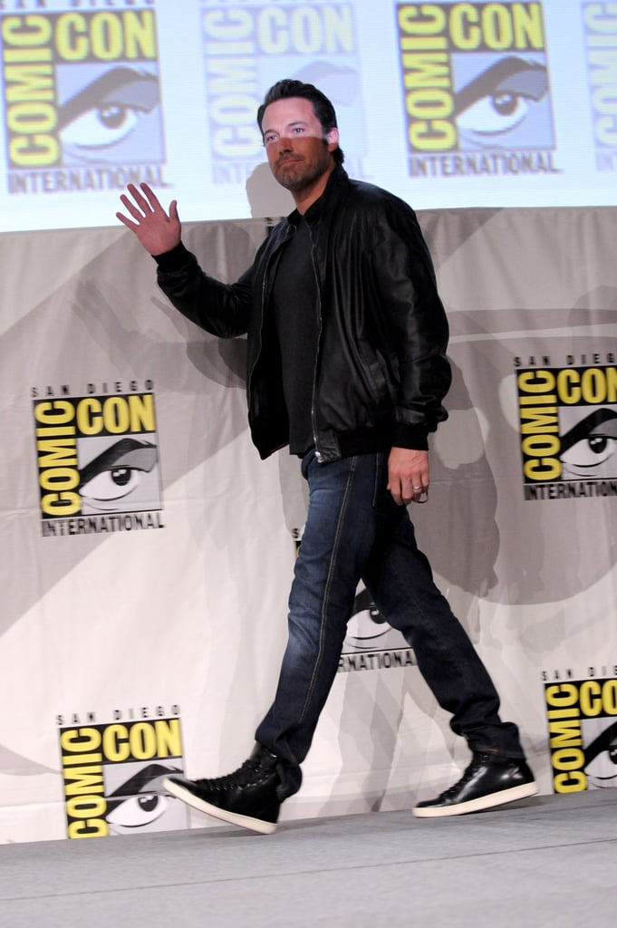 Ben Affleck looked hotter than ever when he attended the Batman v Superman: Dawn of Justice event on Saturday.