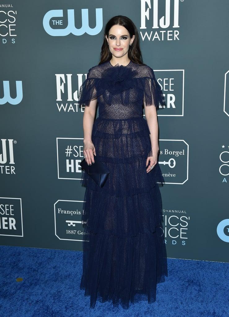 Emily Hampshire at the 2020 Critics' Choice Awards
