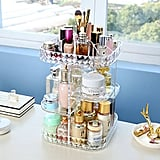 Clear Makeup Organizer Tray