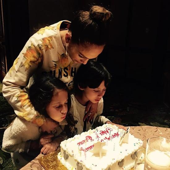 Jennifer Lopez Celebrates Her Twins' 8th Birthday
