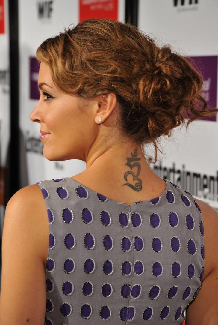 Alyssa Milano Tattoos - Tattoo Fonts For Women and Women