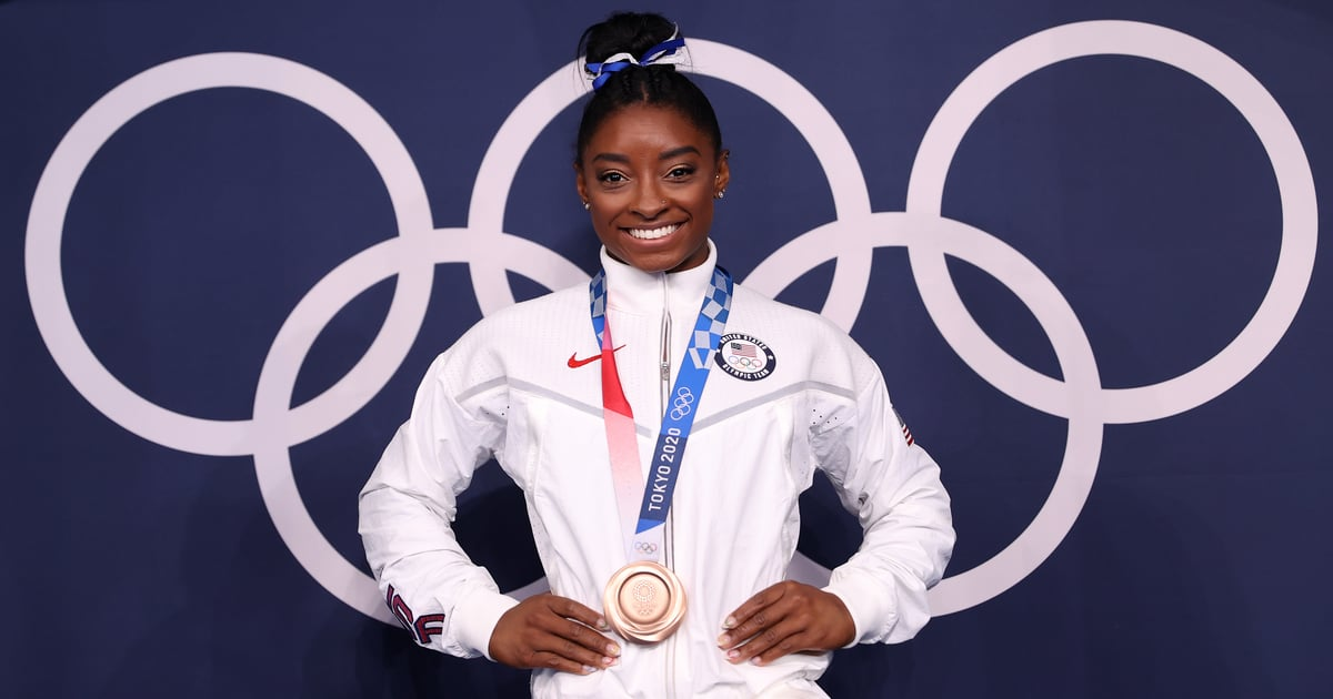 """Photo of Stars React to Simone Biles's Incredible Olympic Win: """"[She] Is a GOAT"""""""