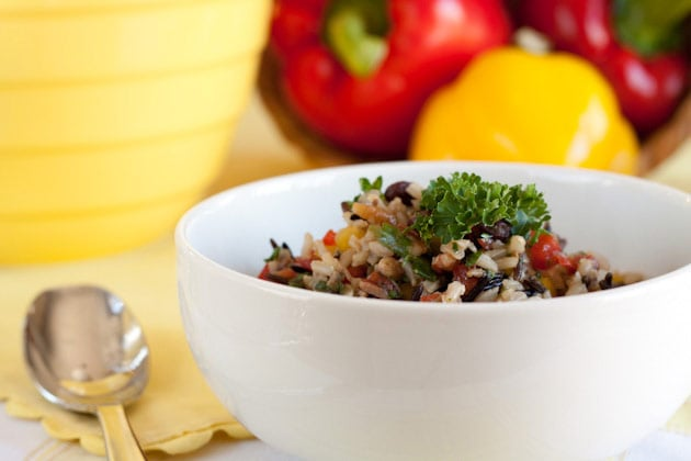 Sweet Pecan and Wild Rice Salad