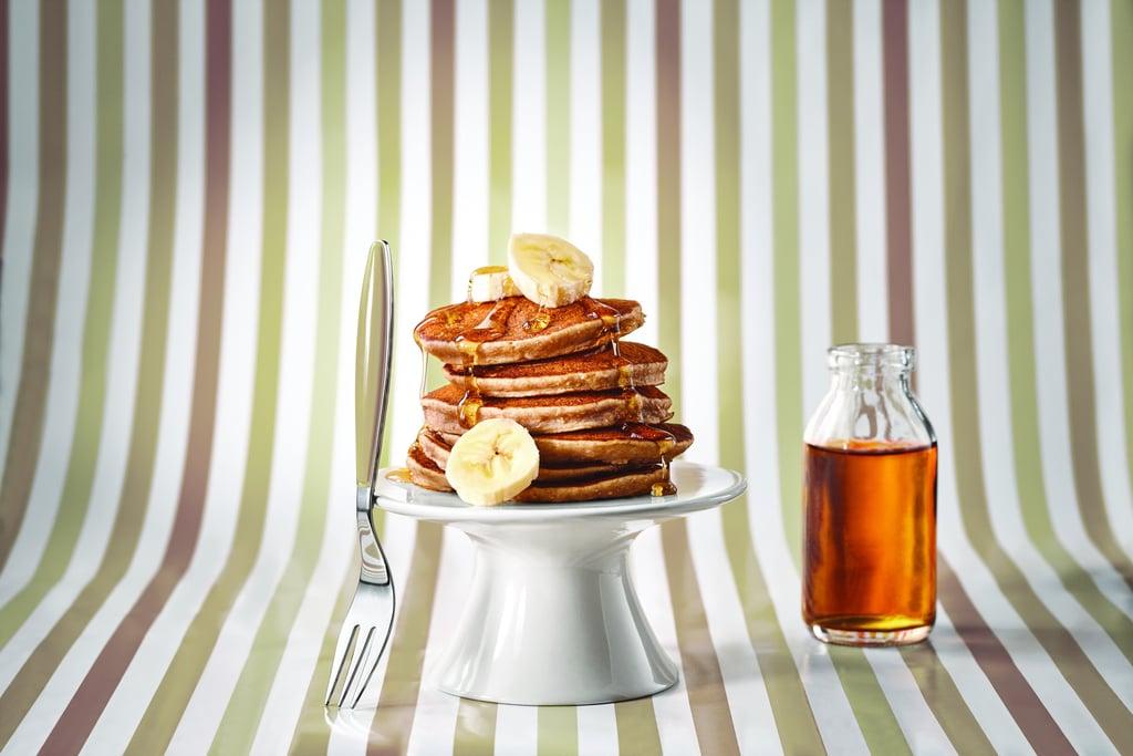 Bananarama Pancakes With Maple