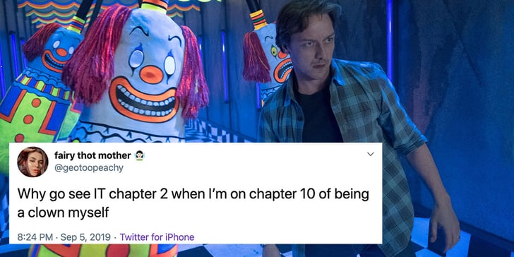 Funny Tweets and Memes About It Chapter Two   POPSUGAR ...
