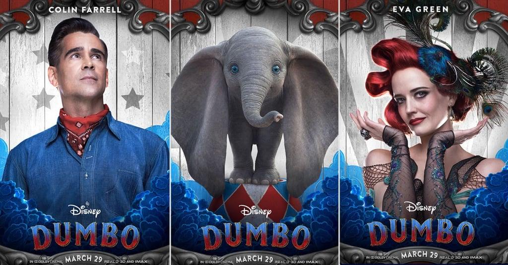 Disney S Live Action Dumbo Character Posters Popsugar Entertainment